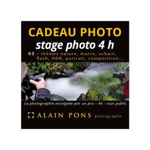 coupon cadeau stage photo 4h